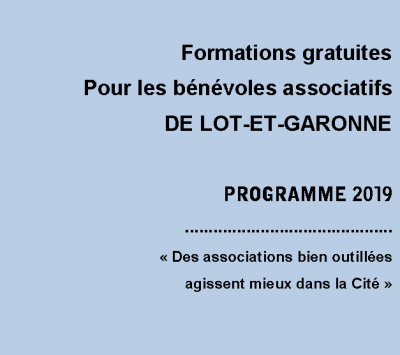 formation benevoles 2019